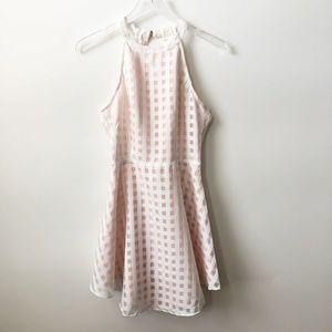 NWOT Lovers + Friends Terrace Chiffon Dress